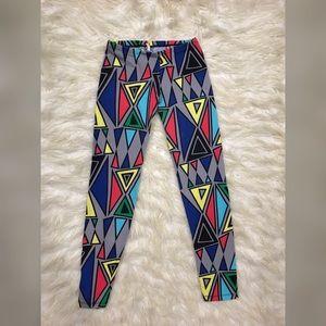 Pants - Colorful tribal print leggings